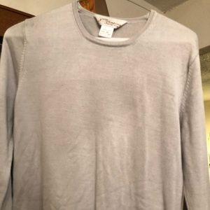 Thin silk sweater